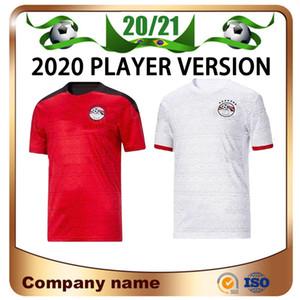 2021 Versione giocatore Egitto Home Soccer Jersey 20/21 Egitto # 10 m.salah Camicia da calcio Away A. Egazi Kahraba Ramadan M.Elneny Uniformi di calcio