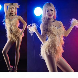 2017 dancer sexy clothes New fashion female short modern dance costume stage singer red costumes sexy costume for singer star