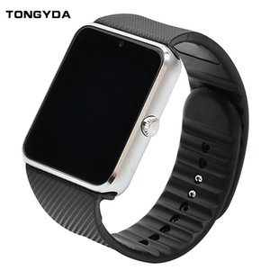 Smart GT08 Bluetooth Fitness Watch With Camera SIM Card For IOS Android Wear Touch Clocks Waterproof Cell Phone Watches