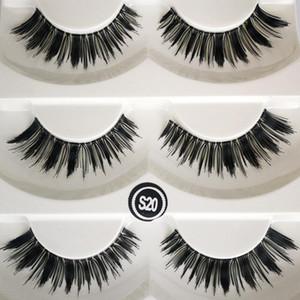 5Pairs Natural Long Eyelashes Fiber False Eyelashes Natural Thick Long Eye Lashes Wispy Makeup Beauty Extension Tools Makeup