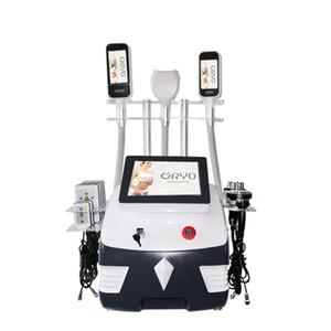 Nouveau design haute technologie vente chaude portable 3 poignée cryolipolysis machine graisse gel amincissant machine combinaison double menton cryo blanc noir