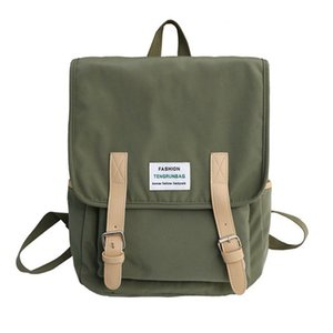 Shoulders Both Package Men And Women School The Wind All-match Will Capacity Oxford Cloth Nylon Waterproof Backpack Student A Bag
