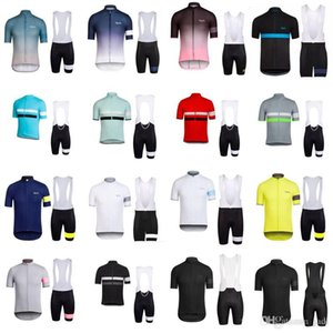 2019 RAPHA Pro Team Jersey Cycling Clothing Summer Quick dry Ropa Ciclismo Racing Bike Cycling Jersey Mountain Bicycle Bib Shorts Set Y05271