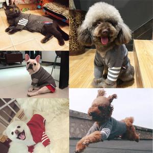 Hohe qualität haustier pullover kleidung für kleine hunde welpen katze stricken pullover kleidung chihuahua winter warme manteljacke mäntel 201128