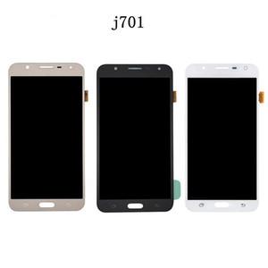 100% getesteter Bildschirm für Samsung Galaxy J701 J710 Display LCD-Touchscreen-Digitizer mit Touchscreen-Telefon