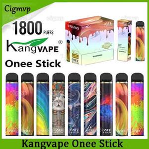Kangvape One Stick Device monouso Dispositivo Penna Vape 1100mAh 1800 Pulves 6.2ml Cartridge Pod vs Bang XXL Puff XXL
