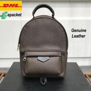 Yüksek dereceli sırt çantası lady hakiki deri moda mini klasik kadınlar sırt çantaları çocuklar kız okul çantası omuz çanta tasarımcılar çanta
