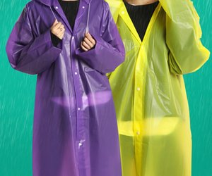 breathable raincoat reusable and environment raincoat colorful raincoat light airy and durable