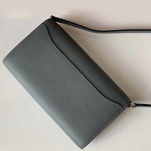 Womens Wallet H constance to Go Epsom Echtes Leder Kreditkartenhalter Mini Münze Geldbörse Geld Clip Reißverschluss Brieftasche Kreuzkörper Umhängetaschen
