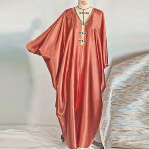 Eid Abaya Dubai Turkey Hijab Muslim Satin Dress Islam Clothing Dresses Abayas For Women Oman Robe Femme Musulman De Mode Vestido