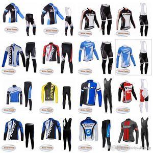 Giant Blanco Team Cycling Winter Thermal Fleece Jersey (BIB) Pantalones Sets Cicly Sportswear Jersey Set Bib Pants Set D1706