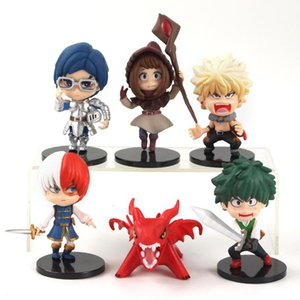 My Hero Academia academy Action Figure toys Midoriya Izuku Bakugou Katsuki Shoto no hero academia Collection Model toy