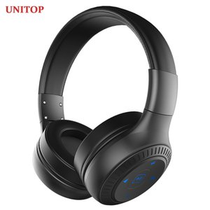 UNITOP ZEALOT B20 Wireless Bluetooth Headphones Stereo Earphones Display Music Headset With Mic For Mobile Iphone Xiaomi HuaWei Y1128