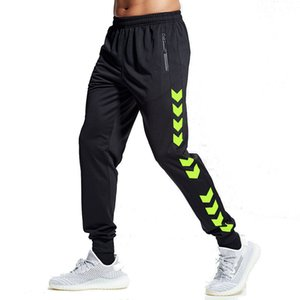 Soccer Training Pants Men With Zipper Pockets Running Cycling Sport Pants Fitness Jogging Running Sport Pants Yoga C1202