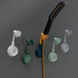 샤워 브래킷 조정 가능한 펀치없는 펀치없는 유니버셜 고정베이스 샤워 노즐 행거 샤워 랙 휴대용 욕실 액세서리 DHD3635