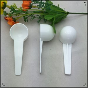 10Ml Measuring Spoon Mask Quantity Spoons Portable Milk Powder Milky White Color Hot Selling In 2019 0 1ge J1