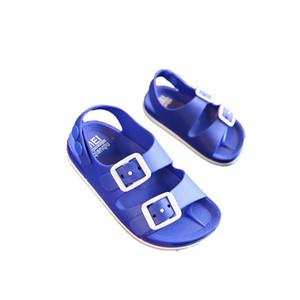 Summer Kids Beach Sandals Toddler Boys Casual Soft Non-Slip Flat Sandalia Outdoor Sport Children Shoes 1-5Y B0001 Y201028