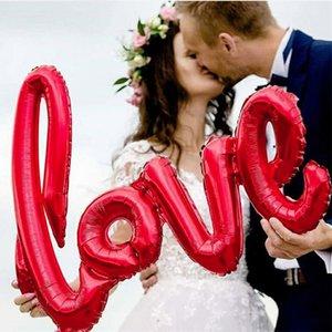 108 سنتيمتر كبيرة الحب إلكتروني احباط بالون الذكرى الزفاف عيد الحب عيد حزب الديكور صور الدعائم JK2101KD