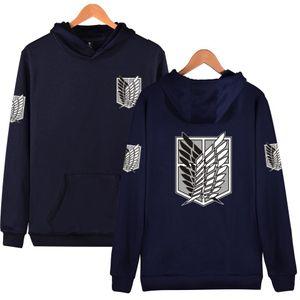 Attack on Titan Hoodie Men Women Cotton Sweatshirt Anime Shingeki No Kyojin Streetwear Clothes Cosplay Costume Y201123