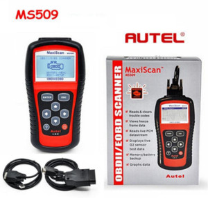 MaxiScan Diagnostic Tool MS509 Autel MSOBDII OBD2 EOBD Automotive Code Reader Scanner Work for US Asian European Car