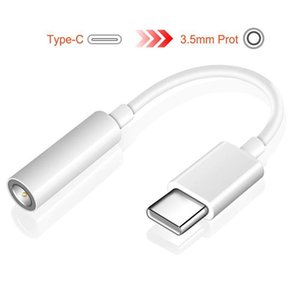 -C ila 3 .5mm Kulaklık Kablosu Adaptörü USB 3 .1 Tip C Erkek 3 .5 AUX Ses Kadın Jack Tip -C Smartphone için