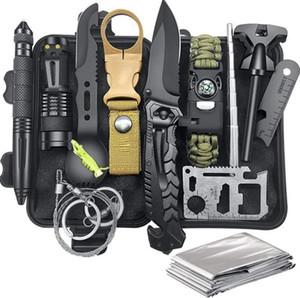 Многофункциональная самооборона SOS Boodility Surveival Kit Открытый Multitool Kit Adventure Kit Sevilival Tool