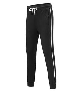 2021 Mens Designer Joggers 6 Colors Fashion Brand Sweatpants Stripes Panalled Pencil Jogger Pants Free Shipping Plus Size S - 4XL 897