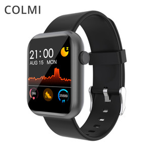 COLMI P9 Smart Watch Men Woman Full Smartwatch Built-in game IP67 waterproof Heart Rate Sleep Monitor For iOS Android phone FY8318