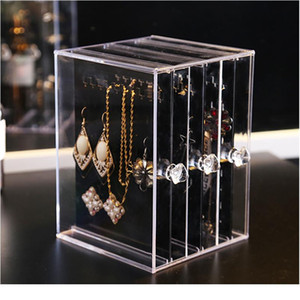 Crystal Jewelry Plastic Ps Showing Shelf Necklace Bracelet Rack Earrings Hanger Nail Art Display Stand Make Up O bbyyyx