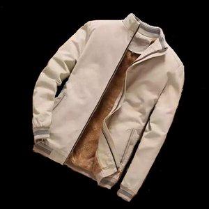 Mens Designer Jacken Mode Herren Bomber Jacken Casual Male Outwear Fleece Dicke Warme Windjacke Männer Baseballmäntel
