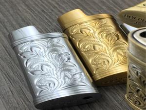 Armatura metallica Accendino Gas Shell Shell Arabesque Hollow Carving J5 Accendino Caso Generale Plastica Protezione del corpo Protezione Accendino Copertura SQCMGL Whphome