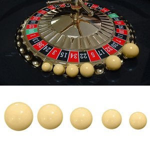 3pcs Ball Casino Roulette Game Replacement Ball Resin 12 15 18 20 22mm High Quality and Brand New