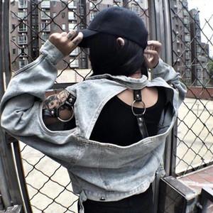 SexeMara Cowboy jacket ring personality hollow