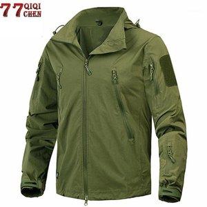 New 2020 Waterproof Windproof tactical jacket Outwear US Army Breathable Nylon Light Windbreaker Coat Jaqueta masculina1