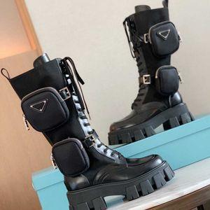 المرأة الجديدة Rois الجوارب الجلدية عالية قطع الكاحل مارتن الأحذية والقابلة للإزالة النايلون التمهيد سيدة الجوارب في الهواء الطلق الأحذية أعلى جودة