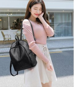 backpack lady Genuine PU Leather Backpacks fashion back pack fow women handbags Presbyopic Mini shoulder bag Handbag Purse Cross body bag