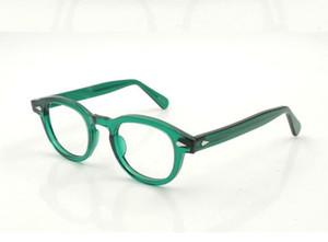 Yeni Marka Tasarımcısı Gözlük Çerçeveleri Lemtosh Gözlük Çerçevesi Johnny Depp Yüksek Kalite Yuvarlak Erkekler İsteğe Bağlı Miyopi Dava