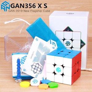 Gan356 x S Magnetic Speed Gan Cubo Gan356x Profissional GAN 356 x Ímãs Puzzle Gan 356 Xs Cubes 201224