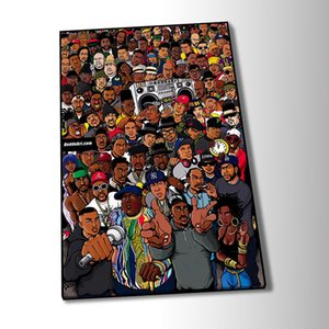 Rappers Wallpaper 2020 Art Poster Oil Painting Wall Art Paintings Picture Paiting Canvas Painting Home Decor