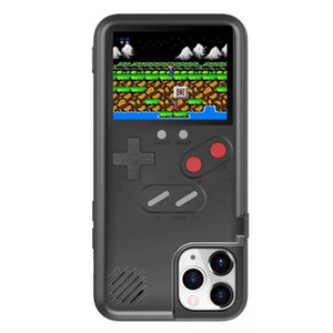 Portable Video Game Console Protective Case Cover for iPhone 12 Pro Max Handheld Retro Game Player