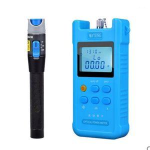 Optical power meter + Visual Fault Locator, red light source light decay test fiber red pen 5 km1