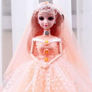 Übergroße schöne hübsche Barbie-Puppe Set Princess Puppe Mädchen Spielzeugaktivität Geschenk Geburtstagsgelenke können sich bewegen