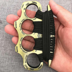 fashion outdoors women men boxing finger Protective Gear ring tiger BRASS KNUCKLE DUSTER Quality is very good hand tool Weight 64645