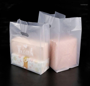 Thank You Plastic Gift Bag Cloth Storage Shopping Bag With Handle Party Wedding Plastic Candy Cake Wrapping Bags1 bbyRwss soif
