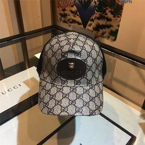 2021TOP Qualität mit Box Staubbeutel Beleg 2020 Neue Ankunft Baseballkappe Mens Frauen Golf Stickerei Hut Snapback Sportkappen Sonnencreme Hüte