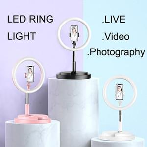 12-дюймовый Dimmable LED Selfie Cong Light с штатив 160 см USB-лампы Big Photography Ringlight для телефона студия рабочего стола