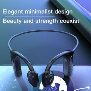 MD04 костной проводимости наушники Bluetooth 5.1 Наушники Крюк Музыка Вызов функции беспроводной свет носимого Водонепроницаемый Спорт гарнитура