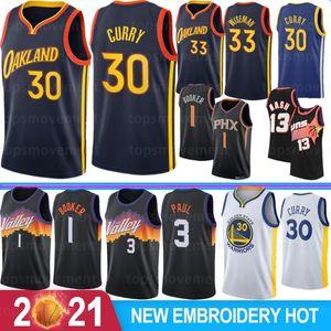 Stephen 30 Curry NCAA Men College Basketball Jerseys DeAndre 22 Ayton Devin 1 Booker Steve 13 Nash Charles 34 Barkley 2021 New Stock
