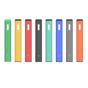 원래 녹색 바 일회용 장치 키트 280mAh 배터리 1.0ml 포드 카트리지 빈 vape 펜 두꺼운 오일 기화기 정통
