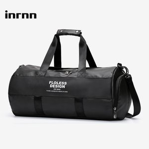 inrnn Multifunction Travel Duffle Bag Men's Large Capacity Waterproof Handbag Male Outdoor Sports Gym Bag Fashion Luggage BagLJ201216
